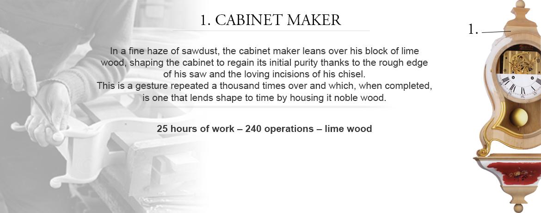 1. Cabinet maker
