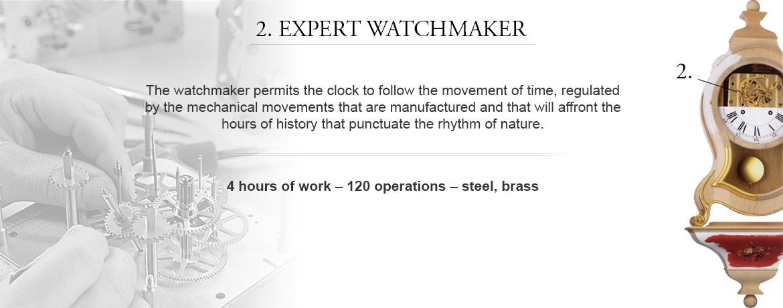 2. expert watchmaker